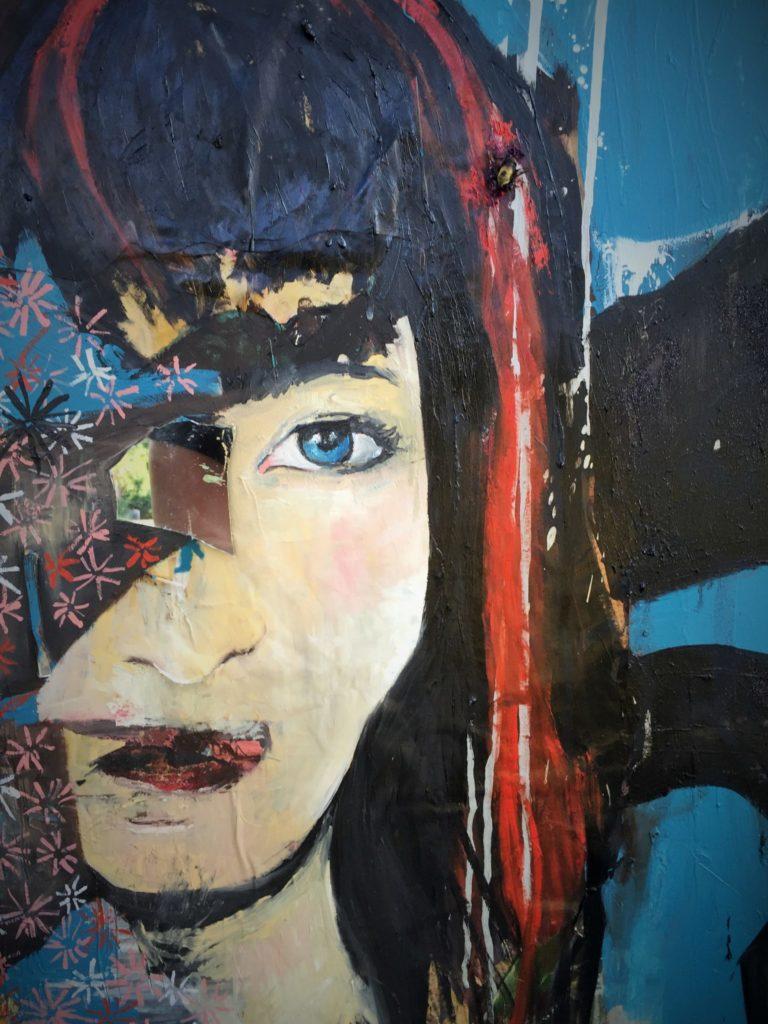 Kathleen Hanna closeup